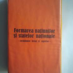 DIAPOZITIVE - FORMAREA NATIUNILOR SI STATELOR NATIONALE { SET COMPLET }
