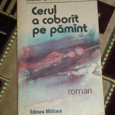Roman - CC17 - CERUL A COBORIT PE PAMINT - ELENA GRONOV MARINESCU - EDITATA IN 1991