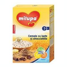 Milupa Cereale cu Lapte si Stracciatella 12+Luni 250gr Cod: 5900852995781