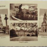 Oradea, Nagyvarad, Bihor - Vedere 4 imagini anii 40- Piesa de colectie ! - Carte Postala Transilvania 1904-1918, Necirculata