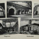 Oradea, Nagyvarad, Bihor - Vedere 5 imagini din interiorul cetatii Oradea anii 40- Piesa de colectie ! Rara ! - Carte Postala Transilvania 1904-1918, Circulata