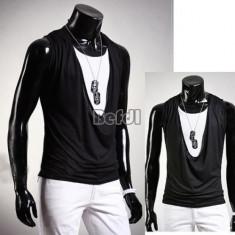 Vesta SLIM FIT fashion casual deschidere mare, cardigan - Vesta barbati, Marime: S, M, Culoare: Din imagine, Bumbac