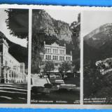 carte postala / FOTOGRAFIE VECHE BAILE HERCULANE CASINOUL VEDERE GENERALA INTERBELICA NECIRCULATA(v050