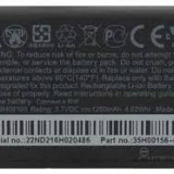 Baterie telefon, Li-ion, 1250mAh/4, 6Wh - Acumulator hTc chacha cha cha BH06100 S570
