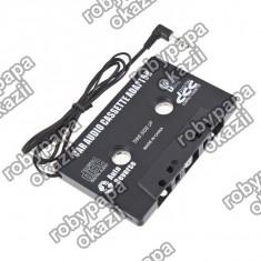Casetofon auto - Caseta adaptoare auto cu mufa jack pentru casetofon MP3, Telefon etc
