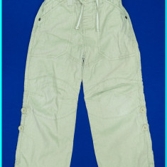 DE FIRMA _ Pantaloni in+bumbac, reglabili, calitate NEXT _ baieti | 4 - 5 ani, Culoare: Bej