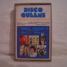 Vand caseta audio Disco Queens. Le Regine Delle Discoteche.Originala! Raritate ! - Muzica Pop Altele, Casete audio