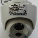 Camera supraveghere de exterior DOME 1000TVL | 1.3 CCD Color | 3.6mm | 12V - Camera CCTV, Cu fir, Analogic