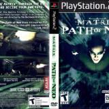 Joc original The Matrix Path Of Neo pentru consola PlayStation2 PS2 - Jocuri PS2 Atari, Actiune, Toate varstele, Multiplayer