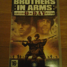 JOC PSP BROTHER IN ARMS D-DAY ORIGINAL / STOC REAL / by DARK WADDER - Jocuri PSP Ubisoft, Shooting, 16+, Single player