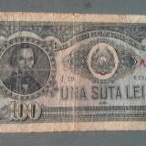 ROMANIA - 100 LEI 1952 - ( NR 5555 - 2 )