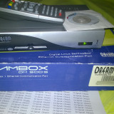 PACHET SATELIT: Receiver Amiko SHD-8320 CX Dreambox dm 500 s antena 80 cm lnb 4 iesiri motor amiko dm3800 busola level meter