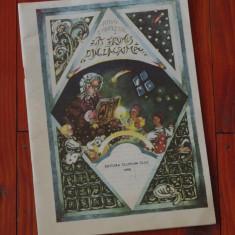 Carte de povesti - Carte -- Fat frumos din Lacrima de Mihai Eminescu - Ed. Clusium 1990 - 30 pagini cu ilustratii !!!