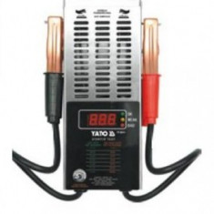 Tester acumulatori digital 12V, YATO YT-8311