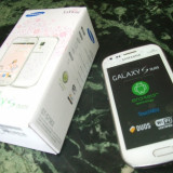 Samsung Galaxy S DuoS  7562 Dual Sim     White - La Fleur - editie limitata