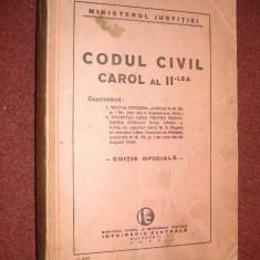 Codul civil Carol al II-lea (1940)