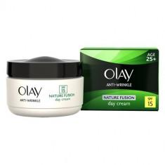 Crema hidratanta de fata Olay, Mixt - Cremă de față Olay Anti-Wrinkle Nature Fusion Day Cream Age 25+