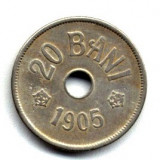 20 BANI 1905 STARE BUNA - Moneda Romania