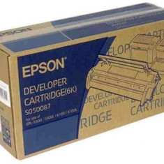 Cartus toner EPSON SO50087 / C13S50087 / EPL-5900 / 5900L / 6100 / 6100L - 6K