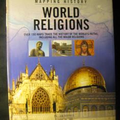 Atlas istoric - Religiile lumii - World religions - in engleza