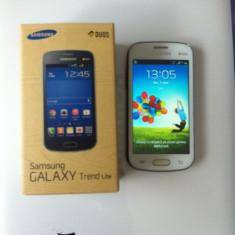 Samsung Galaxy Trend Duos - Telefon mobil Samsung Galaxy Trend Plus, Alb, Neblocat