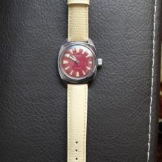 Ceas de barbati - Automatic -Benmore Incabloc 25 Rubine service la zi -Deosebit - Ceas barbatesc