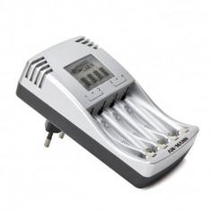 Incarcator ANSMANN PhotoCam IV, pentru acumulatori NI-MH si Ni-Cd tip AA/AAA - Incarcator Aparat Foto Alta