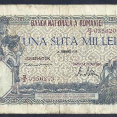 ROMANIA 100000 100.000 LEI 20 DECEMBRIE 1946 [5], An: 1946