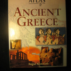 Historical atlas of Ancient Greece, Atlasul istoric al Greciei antice - engleza