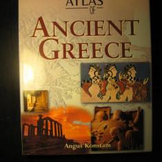 Historical atlas of Ancient Greece, Atlasul istoric al Greciei antice - engleza