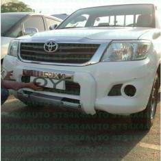 BULLBAR DIN ABS TOYOTA HILUX VIGO 2012-2015 CU LED [DESIGN LC200] - Bullbar auto