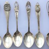 6 lingurite argint americane deosebite, Sterling Silver