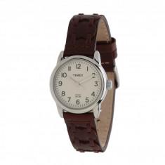 Ceas Barbatesc timex - Ceas Timex Weekender Casual Brown Laced Leather Strap Watch   100% original, import SUA, 10 zile lucratoare