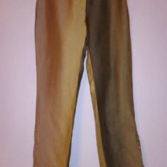 Pantaloni de vara in degrade Roberto Cavalli 100% originali - Pantaloni dama Roberto Cavalli, Marime: M/L, Culoare: Din imagine, Lungi