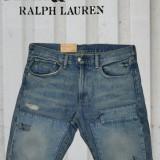 Pantaloni scurti blug Ralph Lauren Polo Distressed Slim talie 31 si 32
