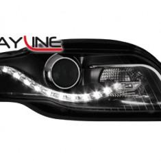 Faruri tuning - Faruri DAYLINE AUDI A4 B7 04-08 negru