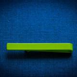 Ac pentru cravata slim verde, ac de cravata slim verde, 3, 5 centimetri