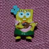 Figurina Sponge Bob, fetita cu chitara, din surpriza ou Kinder, 2004, colectie - Surpriza Kinder