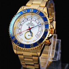 Ceas Barbatesc Rolex, Elegant, Analog, Placat cu aur - CEAS ROLEX YACHT MASTER 2 GOLD (DAYTONA)-SUPERB-PRET IMBATABIL-CALITATEA 1-SALE