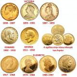 Moneda de aur din 1892 Englezeasca perioada Regina Victoria