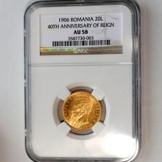 20 lei 1906 moneda de aur - Moneda Romania
