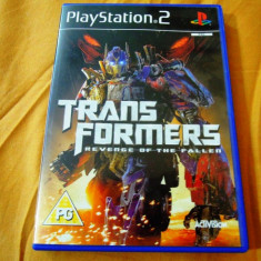 Joc Transformers Revenge of the Fallen, PS2, original, 39.99 lei(gamestore)! - Jocuri PS2 Activision, Actiune, 12+, Single player