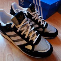 Adidasi barbati, Textil - Adidasi ADIDAS ZX 750 din PINZA & PIELE INTOARSA marimea 44 NOI / CUTIE