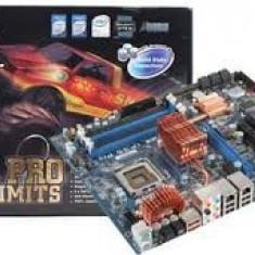Vand kit Placa de Baza Gigabyte cu procesor core 2 duo E8400 3.0 ghz, cu garantie, Pentru INTEL, LGA775, DDR2, Contine procesor, ATX