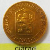Moneda 1 Coroana - CEHOSLOVACIA 1983 *cod 1996 xf, Europa, An: 1983