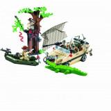 Ambuscada in Jungla joc constructie tip LEGO cu armata 272 piese Enlighten 813