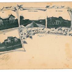 2760 - L i t h o, MARAMURES - old postcard - used - 1898 - Carte Postala Maramures pana la 1904, Circulata, Printata