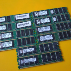 G.Kit 1GB DDR1 Desktop, 512MB x2, Brand Kingston, 400Mhz, Imprt Germania - Memorie RAM Kingston, Dual channel