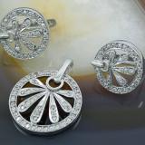 Set bijuterii argint - Set din Argint 925, cu Zirconiu, cod 238