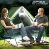 Gradinarit - Felinar cu lanterna 2 in 1, pentru camping, Dual Action LED
